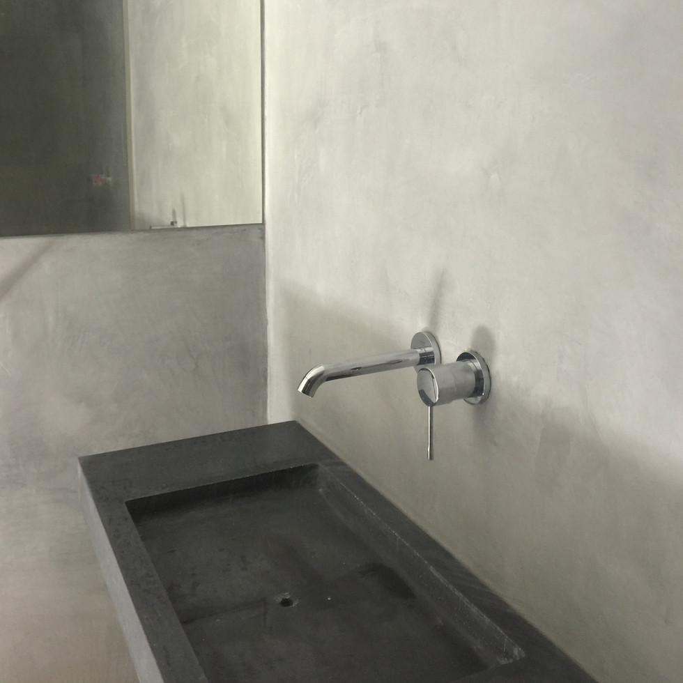 cementpleisterwerken wand