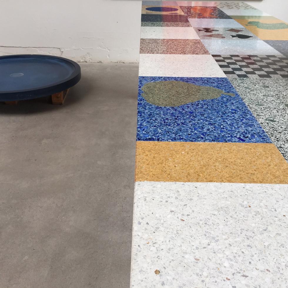 geschuurde betonvloer