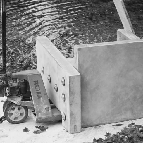 beton stoel