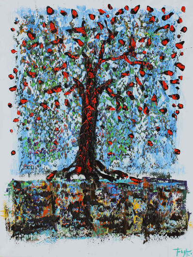 Drzewo 130 x 100 cm oil 2018r (1)_Easy-R