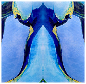 Body Abstract II (blue) 2020 Giclee print on 300gsm Hahnemuhle paper Edition of 5 50 x 50cm £225