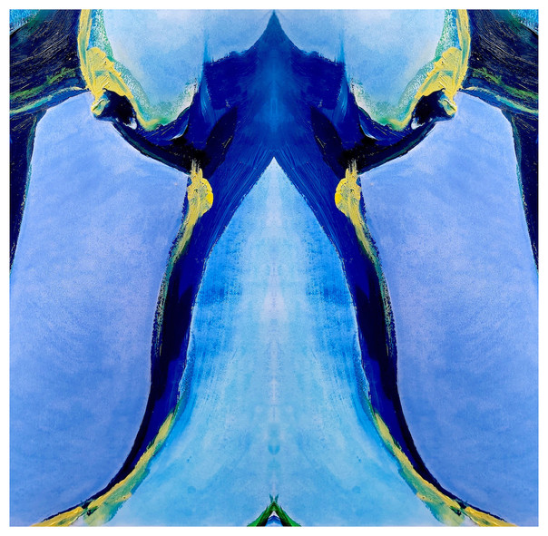 Body Abstract II (blue) 2020 Giclee print on 300gsm Hahnemuhle paper Edition of 5 45 x 45cm £145