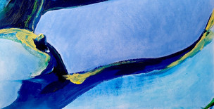 Body Abstract I (blue) Section of 'Host (blue)'