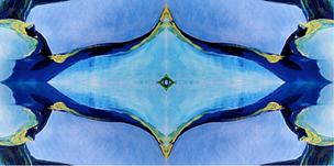 Body Abstract V (blue), 2020