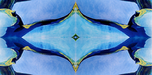 Body Abstract IV (blue)