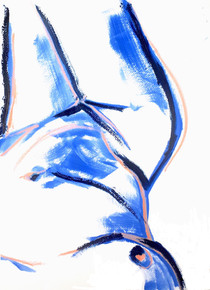 Blue Nude 2019 Giclee print on 300gsm Hahnemuhle paper Edition of 10 59 x 84cm (A1)  £200