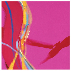 Pink Abstract Giclee print on 300gsm Hahnmuhle paper Edition of 5 45 x 45cm £195