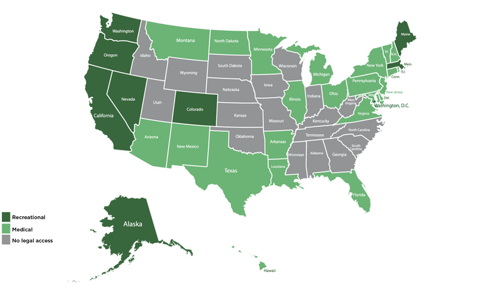 The State(s) of Cannabis