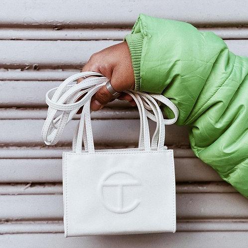 Telfar bag mini white