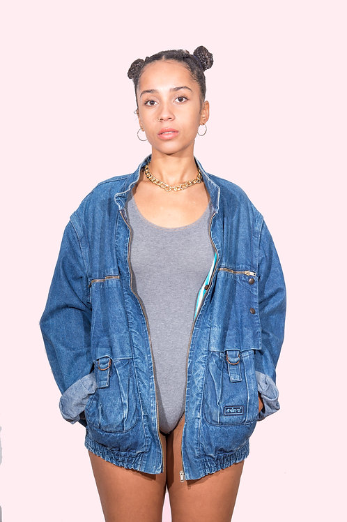 *BAD AND BOUJEE*  JEANS JACKET