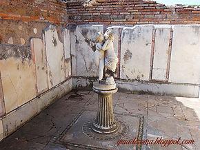 Casa de Amore e Psique, Passeio à Ostia Antiga