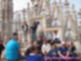 Tetos do Duomo de Milão