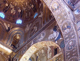 mosaico capela palatina Palermo