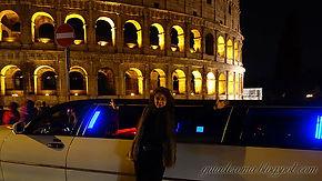 guia_De_roma_portugues_limousine_De_noit