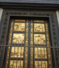 Porta do Paraíso do Ghiberti, cópia