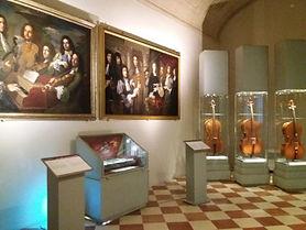 Os Stradivari da Galeria da Academia de Florença