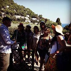 Capri, passeio nos Jardins de Augusto