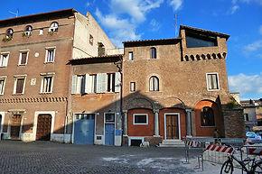 Casas medievais de Trastevere