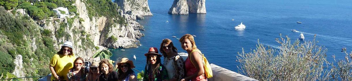 Passeio Capri bate e volta