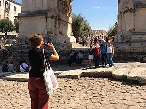 Arco de Tito, passeios personalizados