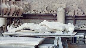 Gessos de Pompéia, vistas guiadas