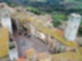 Piazza della Signoria com guia em português