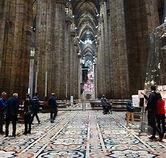 Duomo de Milão, interior