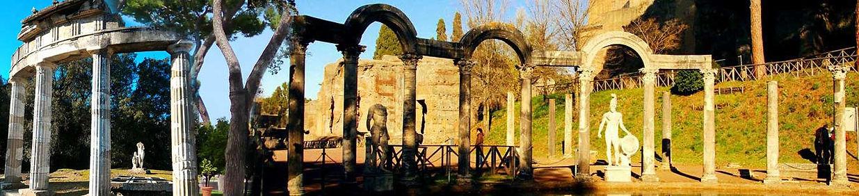 Canopo, Villa Adriana - tours na Itália com guia