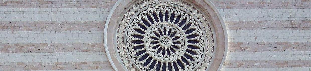Rosácea Basílica de São Francisco, Assis