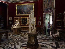 A Tribuna dos Uffizi, o núcleo original do museu