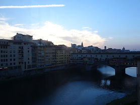 Vista da Ponte Velha do Uffizi