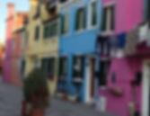 Rua de Burano, Veneza