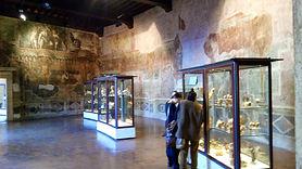 Museu Arqueológico de Palestrina; ex santuário do mundo antigo e ex palácio