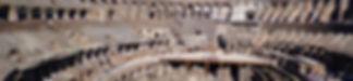 Vista do primeiro andar, interior do Coliseu