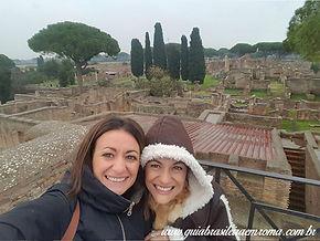 Vista sobre Ostia Antiga, passeio personalizado com guia particular