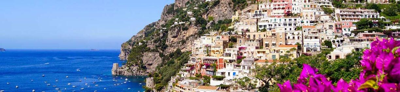 Costa Amalfitana com guia em português
