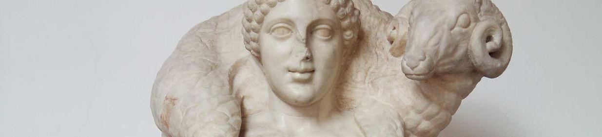 Bom Pastor, escultura grega