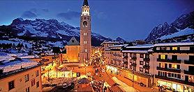 Centro histórico de Cortina d'Ampezzo