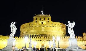 Castel Sant'Angelo iluminado