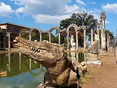 Canopo, Vila Adriana, passeio arredores de Roma
