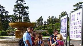 Jardim do Vaticano, explicação capela Sistina