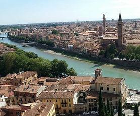 Praça Dante, Verona, City Tour com guia em português