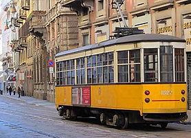 Bonde em Milão - city  tour em português