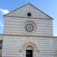 Basilica de Santa Chiara, Assis