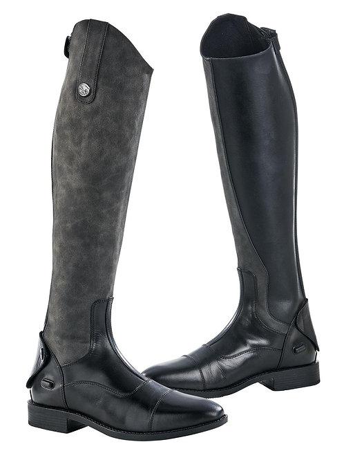 BUSSE Bondy Riding Boots Black/Grey
