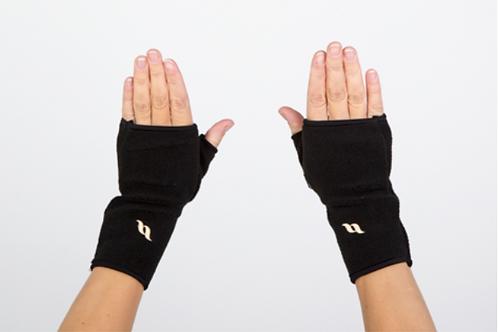 Back on Track Fingerless Fleece Gloves