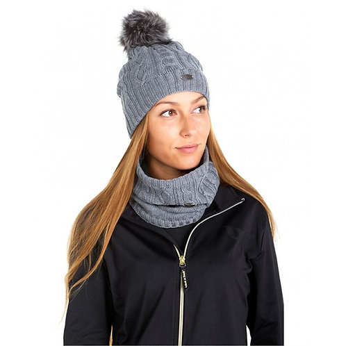 Bundle Back on Track Loop & Bobble Hat