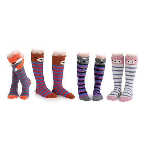 Shires Fluffy Animal Children's Socks