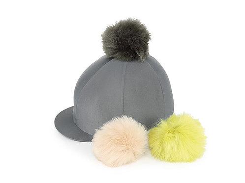 Shires Switch-It Pom Pom hat cover