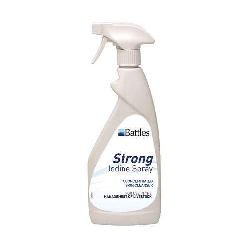 Battles 7% Strong Iodine Spray